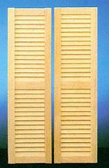 Medium Louvered Shutter