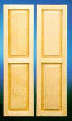 Two Panel Jamestown Shutter